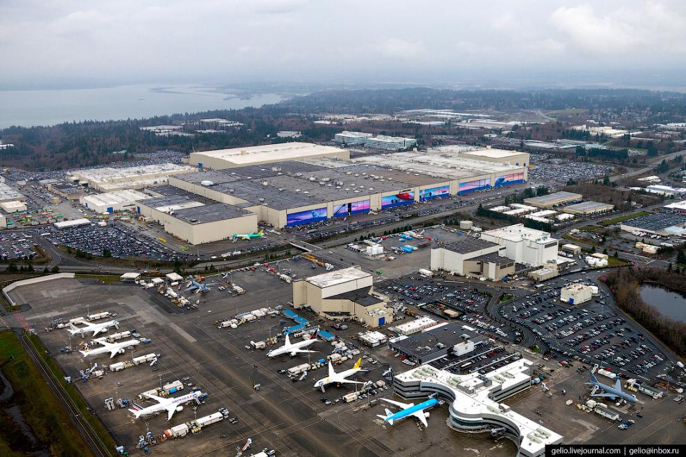 Авиазавод Боинг (Boeing Everett Factory)