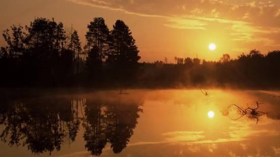 отражение в воде природа 8 (550x309, 112Kb)