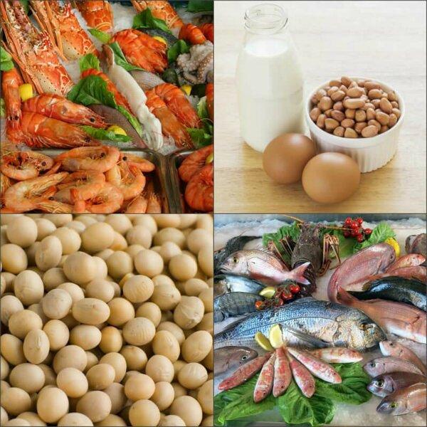 Хорошо изучите список продуктов, вызывающих аллергию