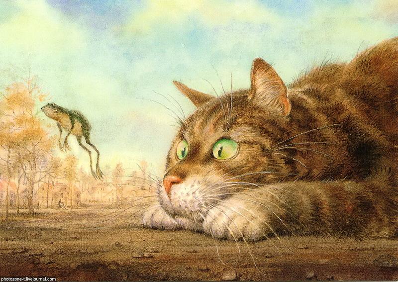 1 марта - Всемирный день кота! Коты Владимира Румянцева