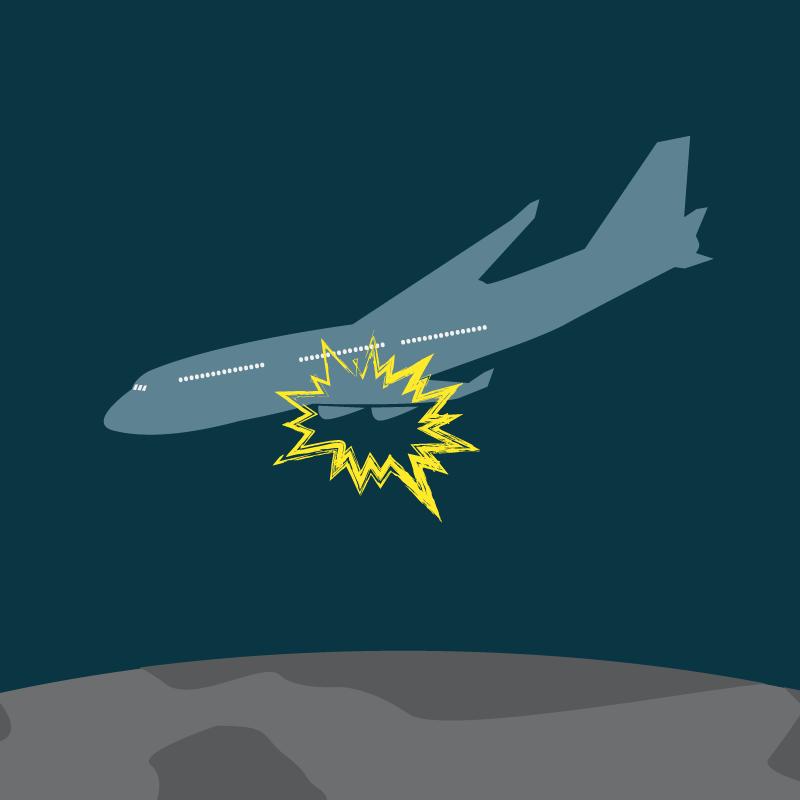 Анекдот про авиакатастрофу и…