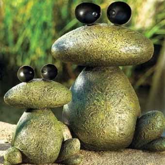 Идеи для дачи: необычный дизайн из камней в вашем саду