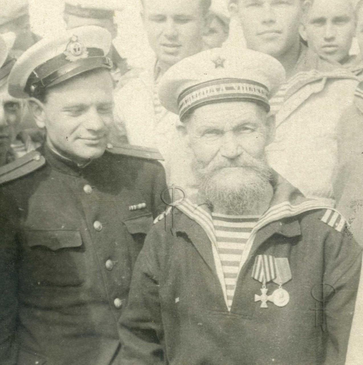 Моряк-ветеран броненосца «Адмирал Ушаков»