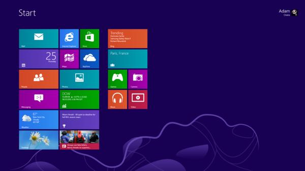 Windows 8 и XP сравнили на старом ноутбуке