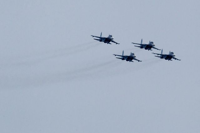 Авиация РФ за неделю 13 раз поднималась на перехват разведчиков