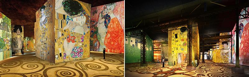 Atelier des Lumière – цифровой музей высокого искусства в Париже