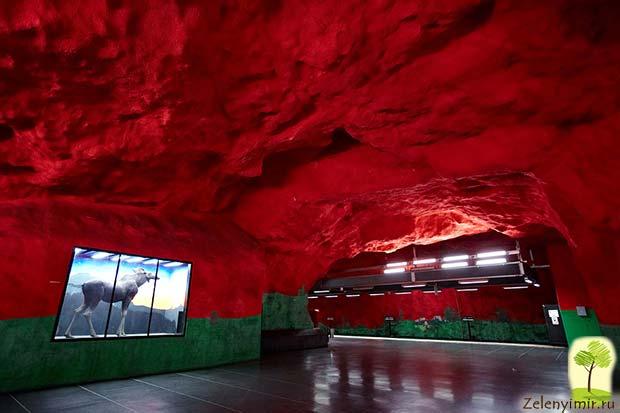 Ошеломляющее метро в Стокгольме – самая длинная художественная галерея в мире, Швеция - 12