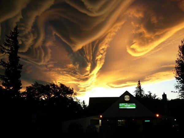 Угрожающие облака