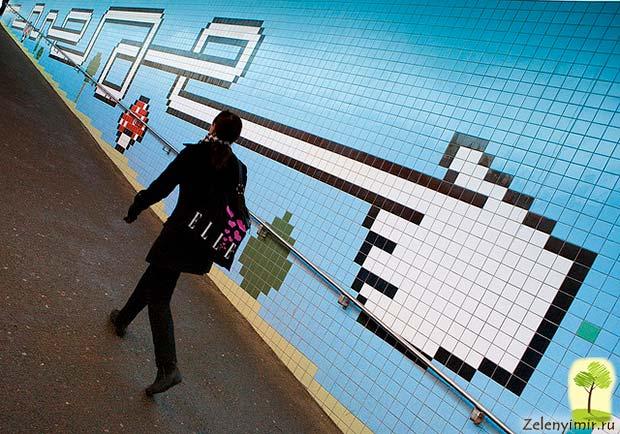 Ошеломляющее метро в Стокгольме – самая длинная художественная галерея в мире, Швеция - 7