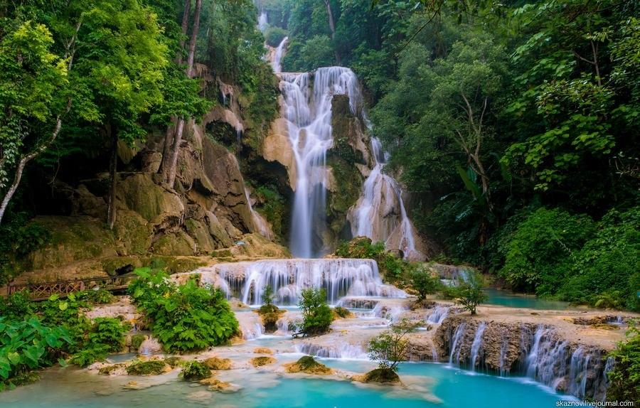 Водопад Тат Куанг Си