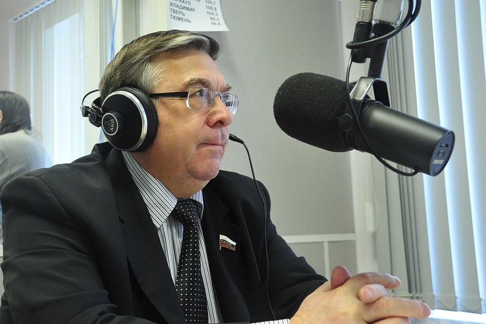 Председатель Комитета Совета Федерации по социальной политике, глава Союза пенсионеров Валерий Рязанский