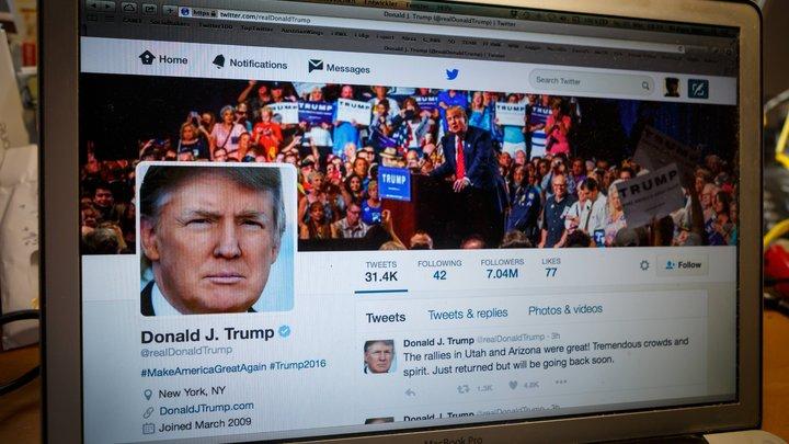 Трамп снова нагнетает: Выпущен твит с одним словом: «Измена»