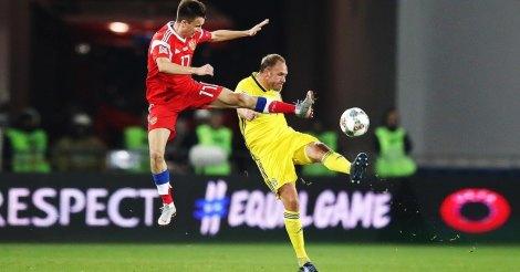 Свободные футболисты сборной России сегодня играли в футбол. Ничья со Швецией
