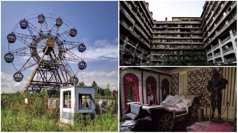 Кто бы мог подумать: современные руины Японии