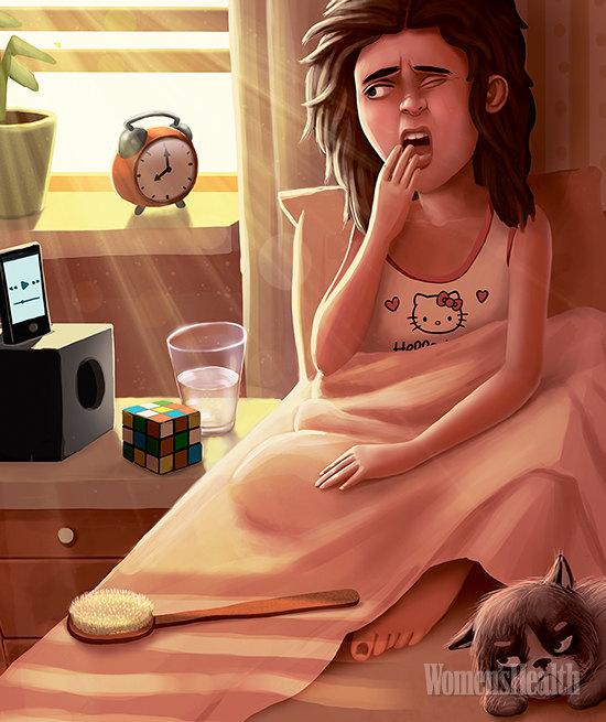 Как проснуться легко