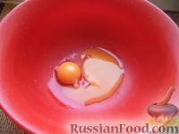 Фото приготовления рецепта: Шарики на кефире с ореховой начинкой - шаг №3
