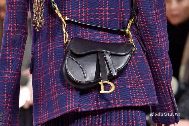 Модный тренд – сумка-седло