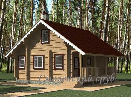 Проекты деревянных домов и коттеджей от 130 до 160 кв.м