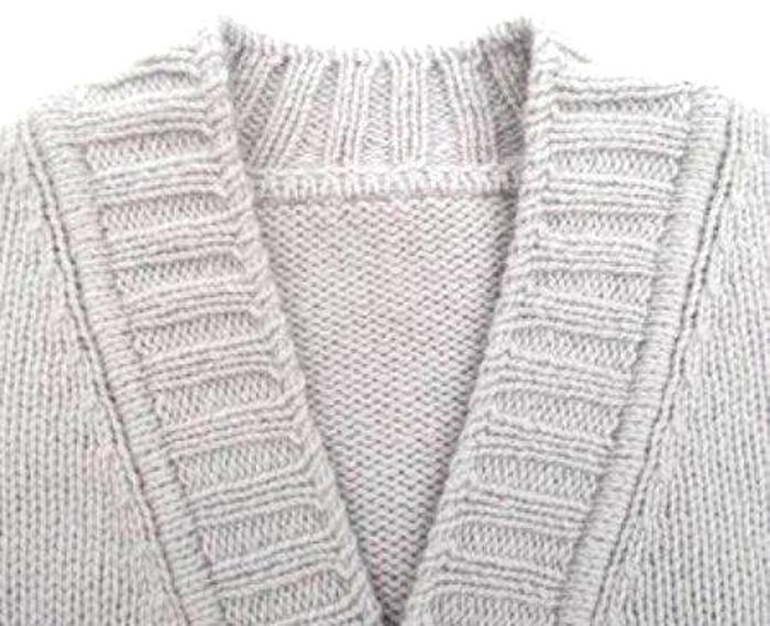 Как сделать аккуратную планку на вязаное изделие