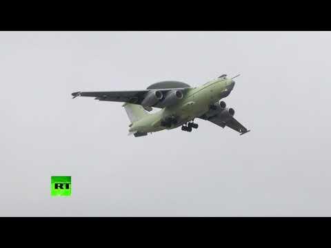 Уникальная техника РФ: «летающий радар» А-100 готов к госиспытаниям