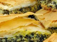 Иран.  Пирог с грибами
