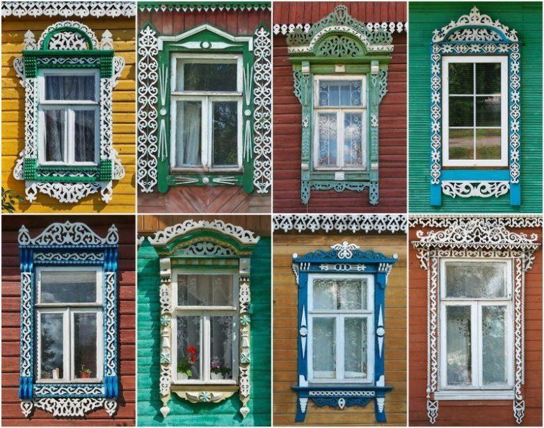 Неописуемая красота старых окон и наличников России