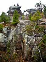 Каменный город в Пермском крае. Черепахи