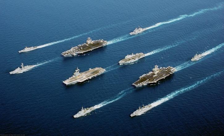 Российские военные корабли напугали Латвию одним своим видом