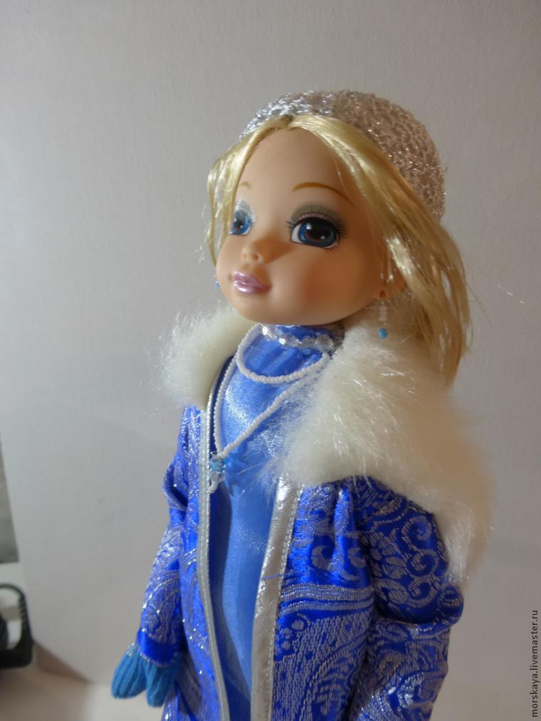 Как сделать Снегурочку из сломанной куклы