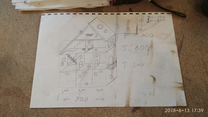 Как я делал кукольный домик