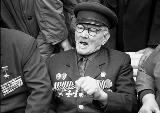 Неизвестный полный Георгиевский кавалер, 9 мая 1965 года (2).