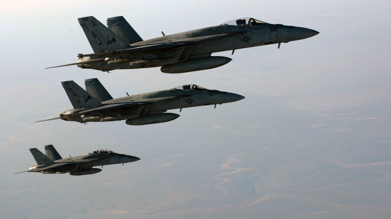 Сирия: коалиция США нанесла …