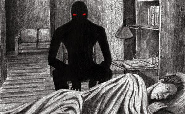 Ночной волосатый душитель