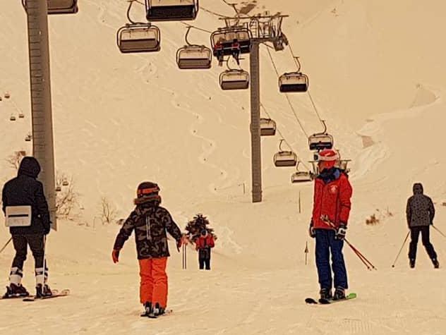 На Кубани и в Адыгее выпал снег с дождем песочного цвета