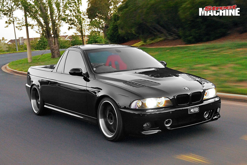 BMW M5 E39 превратили в стильный пикап
