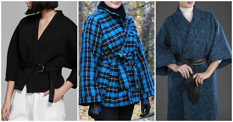 Модное пальто-кимоно, которое совсем не трудно шить