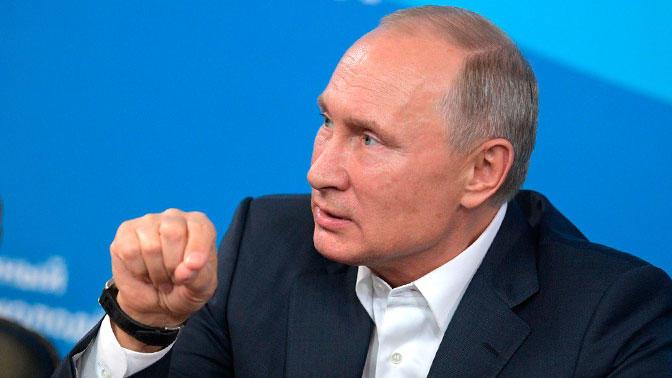 Владимир Путин рассказал о противниках России в США