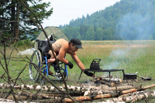 Как инвалиду выжить в дикой тайге Сибири