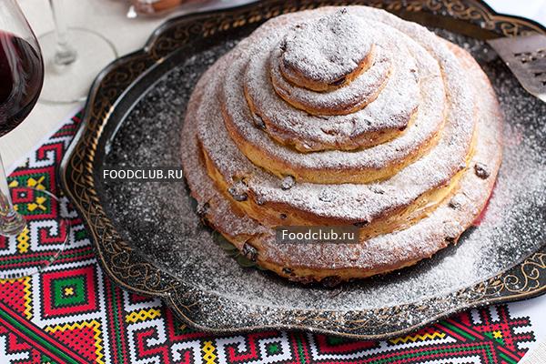 Русский пасхальный пирог — кулич (Kulitsch) (этап 10)