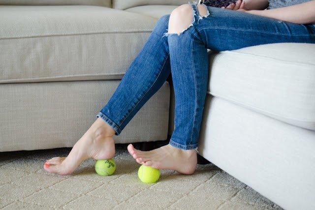 10. Боль от каблуков Лайфхак, массаж, обувь, помощь, пятна, узкая
