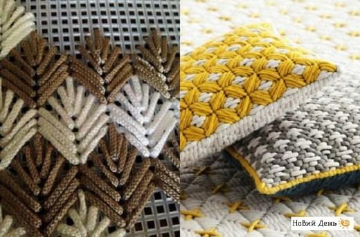 Барджелло — объемная итальянская вышивка на сетке, которая преображает простые вещи