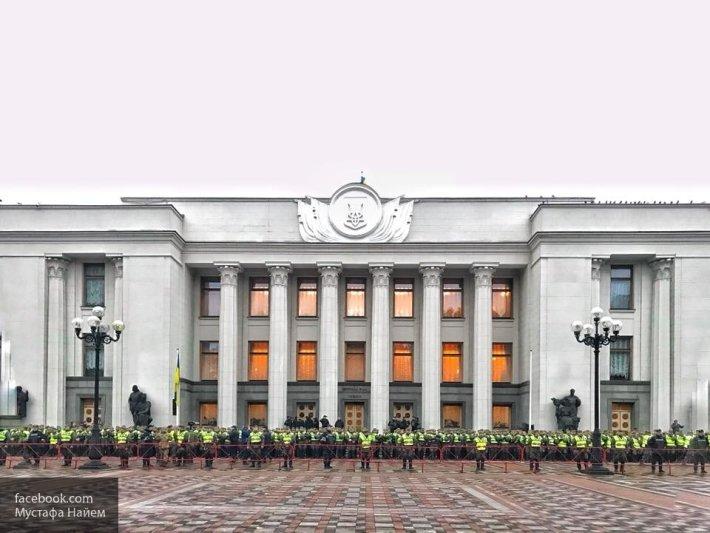 В Верховной раде сорвали обсуждение законопроекта об отмене неприкосновенности