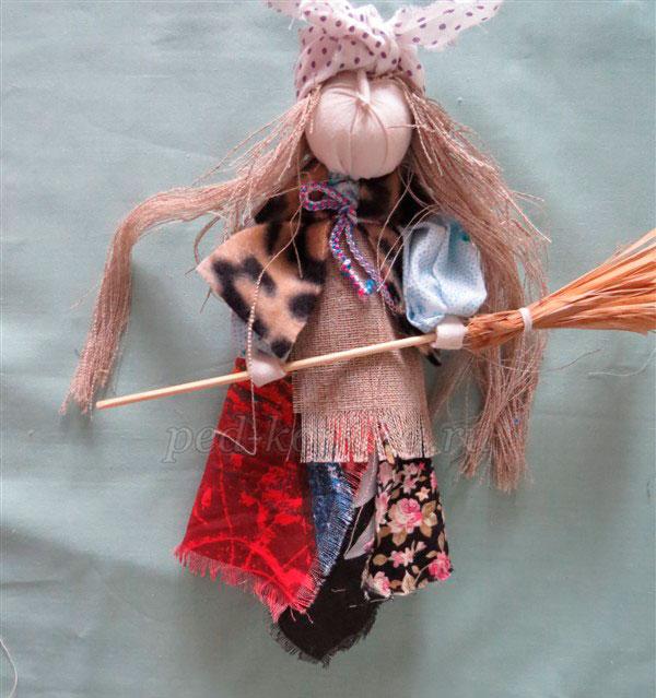 Как сшить тряпичную куклу вуду своими руками