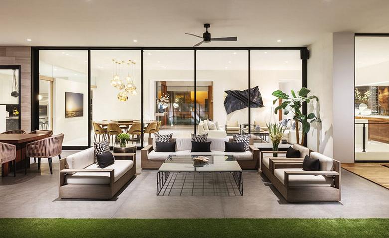 Расслабленный стиль: современный дом в Мексике