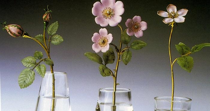 Каменные цветы Карла Фаберже