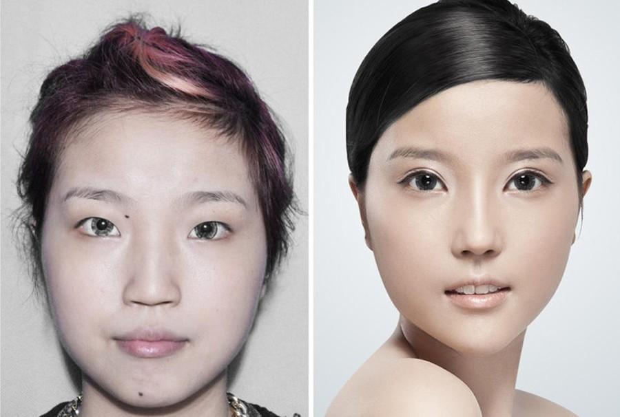 Стандарты красоты: китаянки после пластики