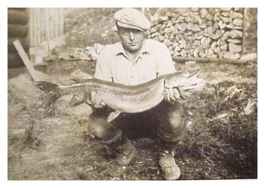 ретро рыбалка