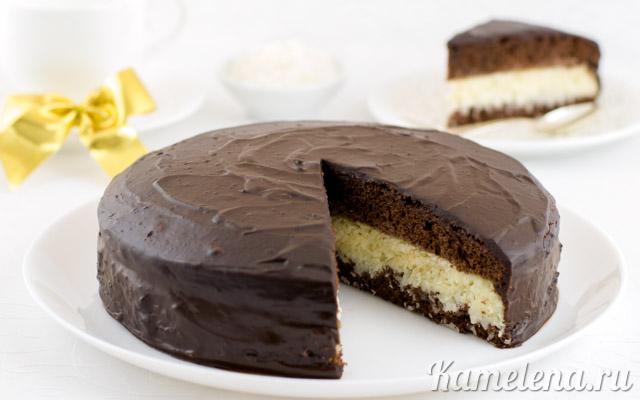 рецепты тортов баунти с фото пошаговые