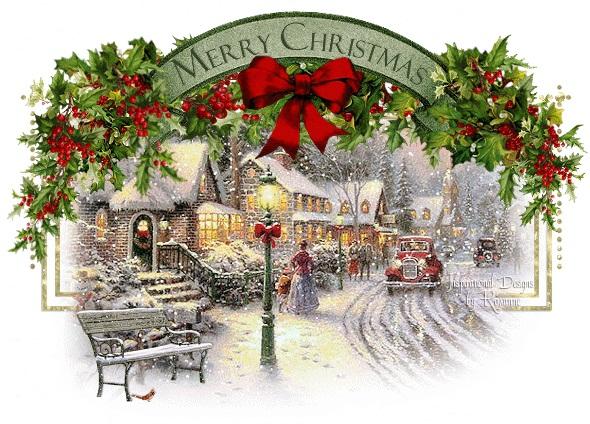 Рождественские открытки! С наступающим ВСЕХ!