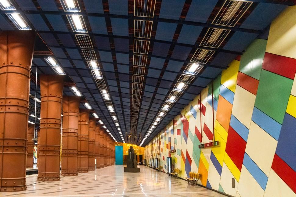 MetroStations48 17 самых волшебных станций метро со всего мира